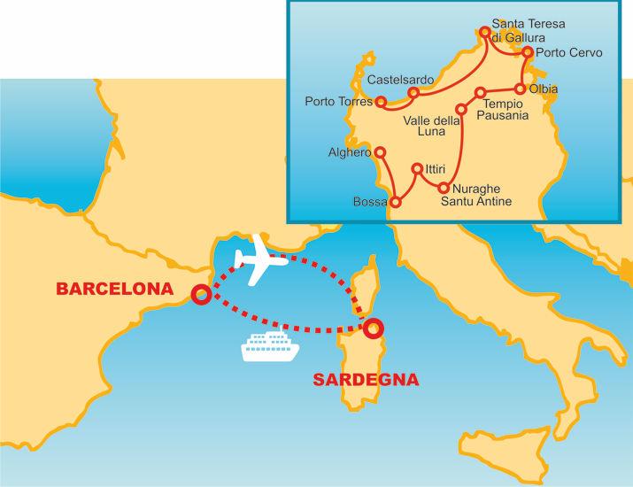 Guided Itinerary Barcelona Sardinia Yourlocalguides Net