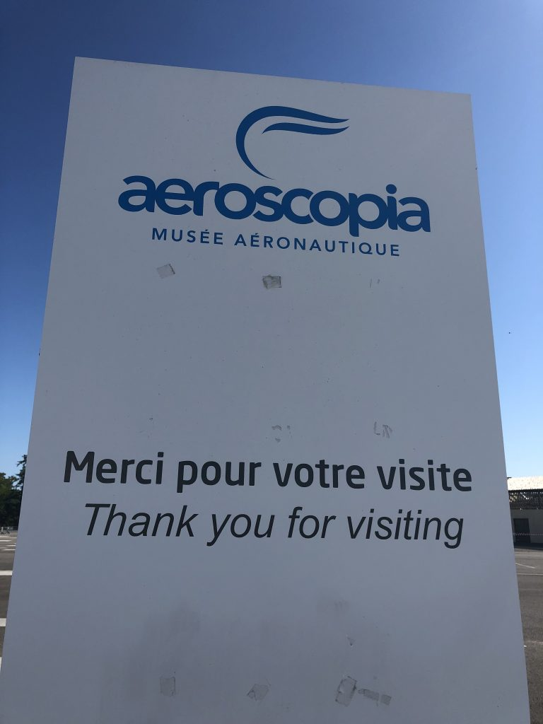 Guided visit Aeroscopia bye