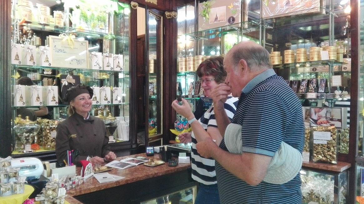 Chocolate tour Turin