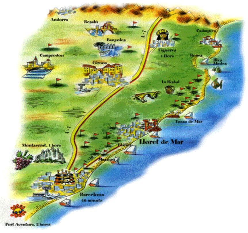 северное побережье Каталонии