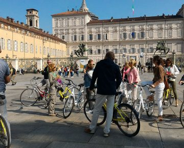 Piazetta Reale - Turin bike tour