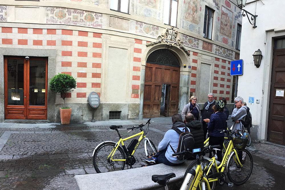 Bike tour in Turin